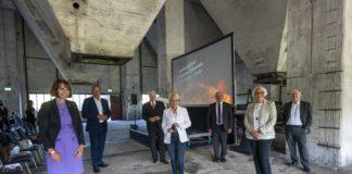 Erster Ausstellungskubus im neuen Denkmalpfad der Kokerei eingeweiht