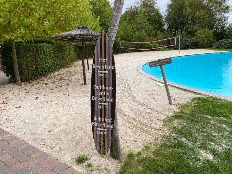 wegweiser Beverland-Resort