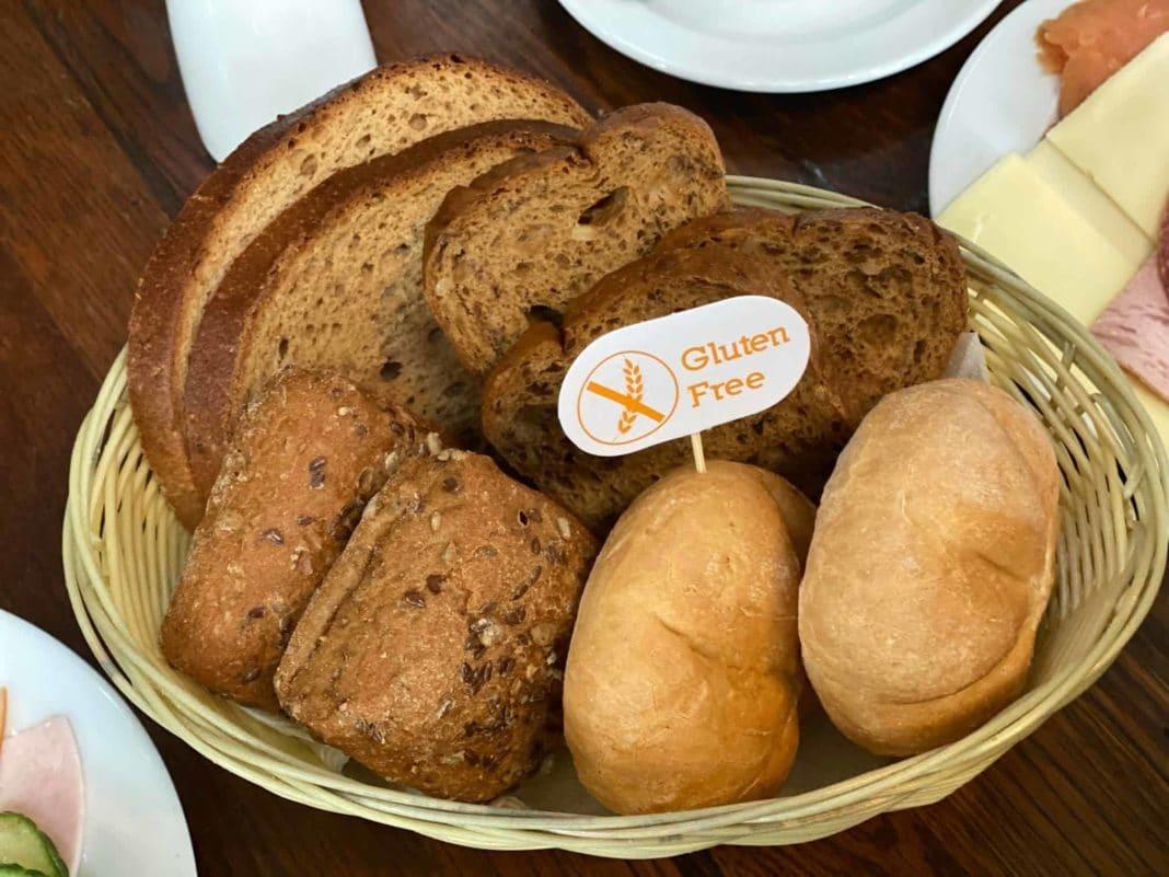Riesige Auswahl an laktose- und glutenfreien Brötchen und Brot