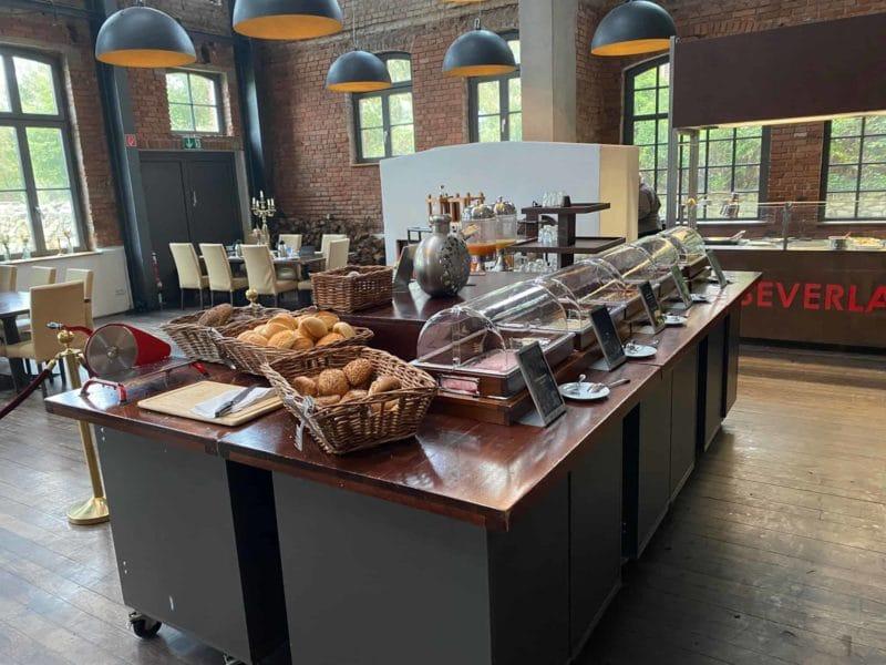 Frühstücks-Buffet Beverland