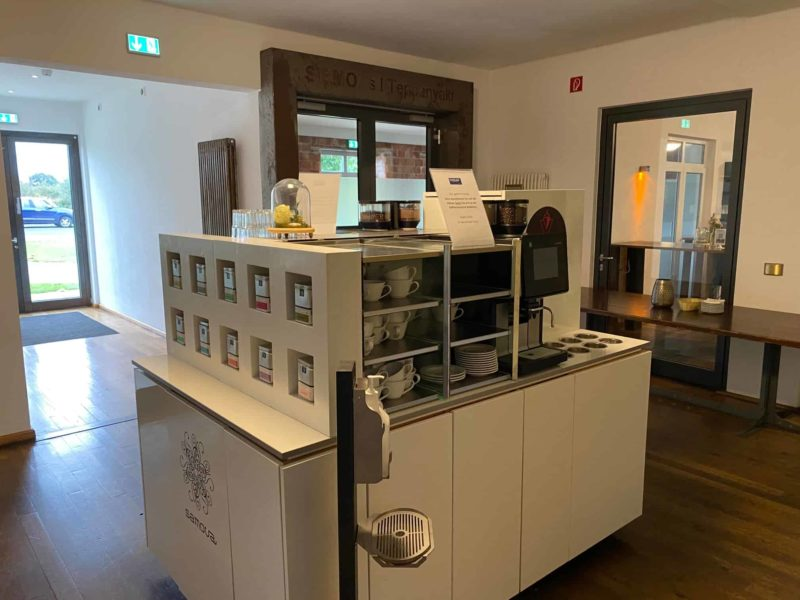 Kaffee- und Teestation Tagungsbereich Beverland