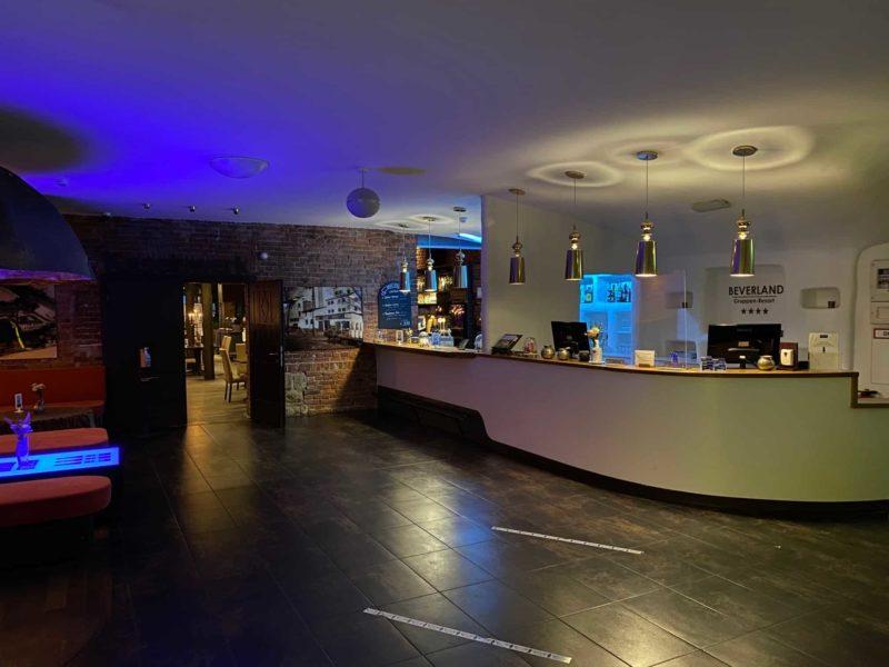 Eingang und Lobby Landhotel Beverland