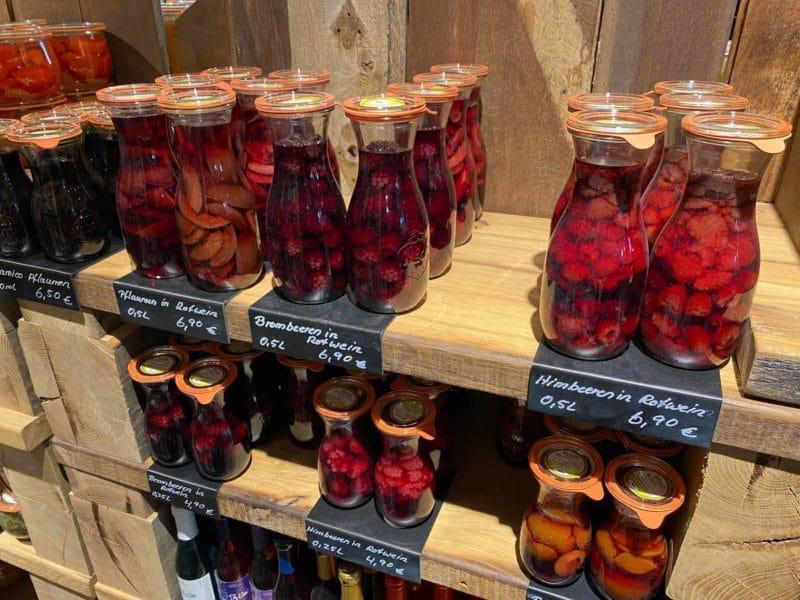 Marmeladen und sonstige süße Leckereien