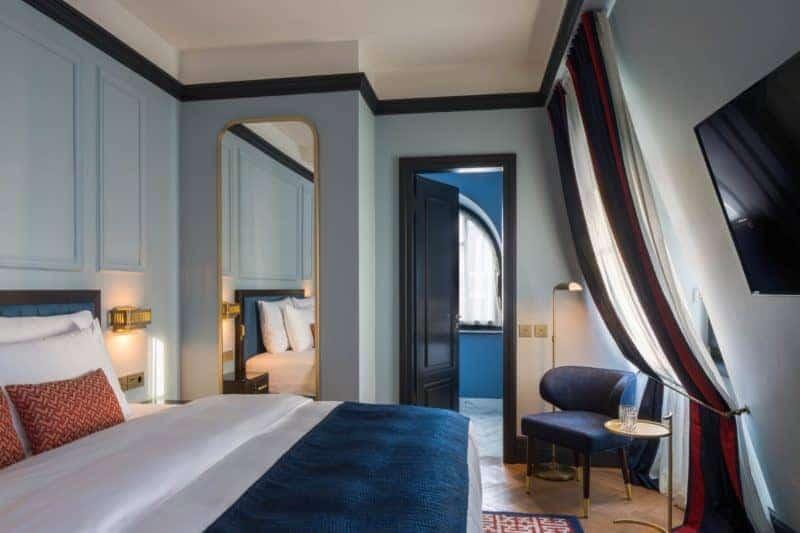 Das blaue Zimmer - charme und zugleich Moderne