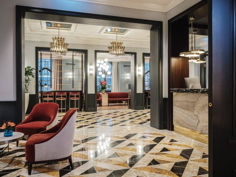 Lobby Ameron Hotel Farnkfurt
