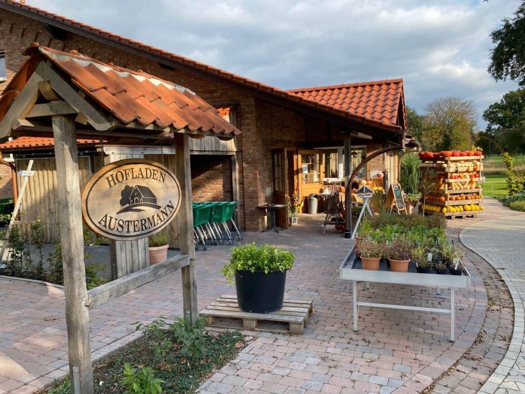 Hofladen Austermann in Warendorf - ein Einkaufsvergnügen