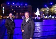 Generalprobe geglückt – Essen Light Festival beginnt
