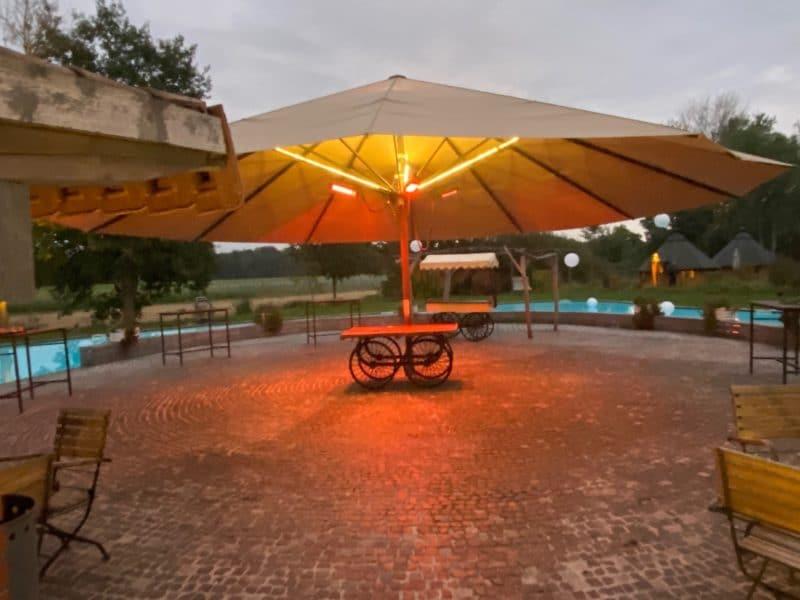 Pool-Insel, Treffpunkt für Tagungen und Events