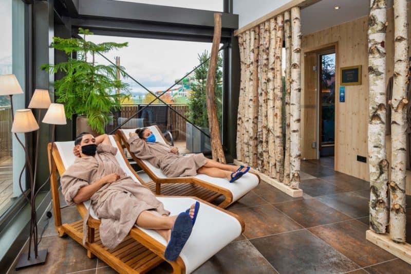 """Auch im 4-Sterne Superior Hotel """"Krønasår"""" des Europa-Park steht den Gästen ab Freitag ein neuer Fitness- & Saunabereich zur Verfügung."""