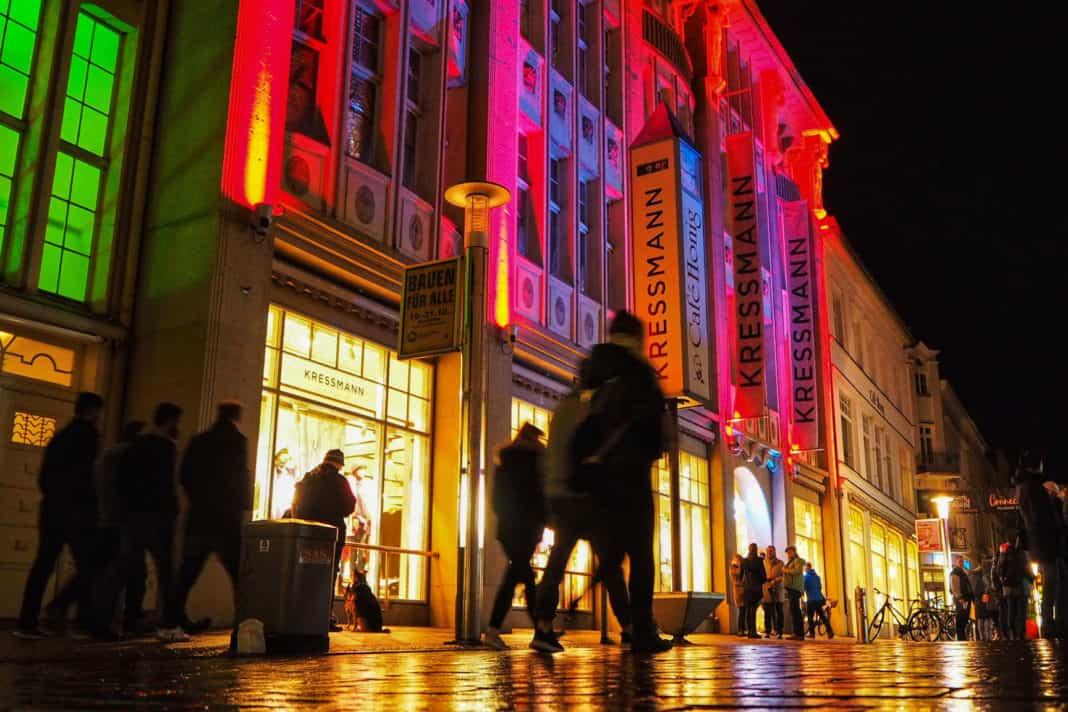 Lichterbummel Schwerin vom 23.-31.10.2020 in der Innenstadt