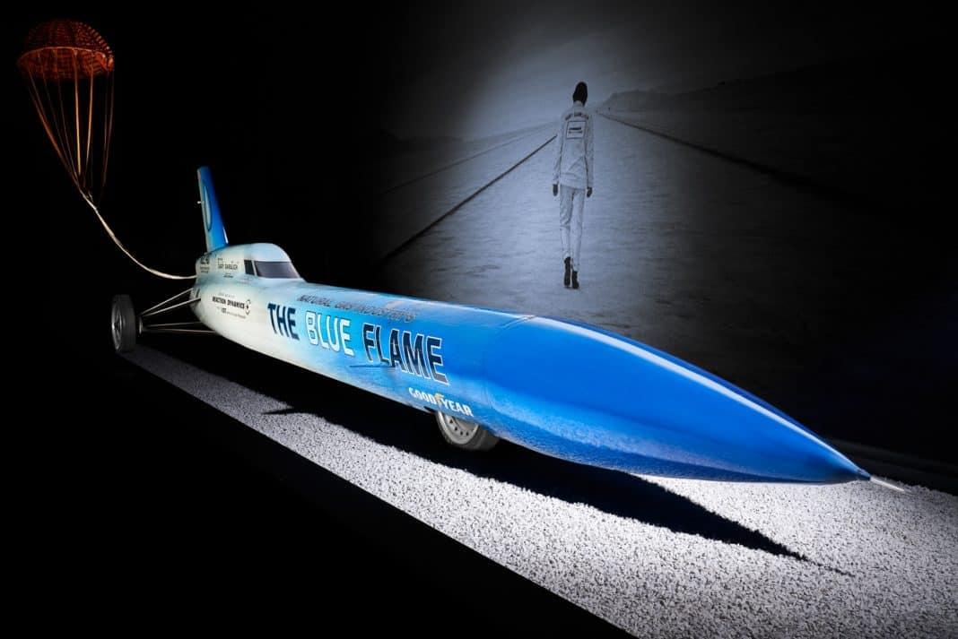 The Blue Flame: Als eine Rakete auf Rädern den Rekord brach