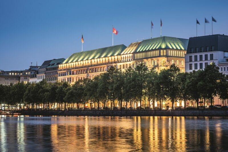 Gewinner des diesjährigen Rankings: Das Fairmont Hotel Vier Jahreszeiten in Hamburg