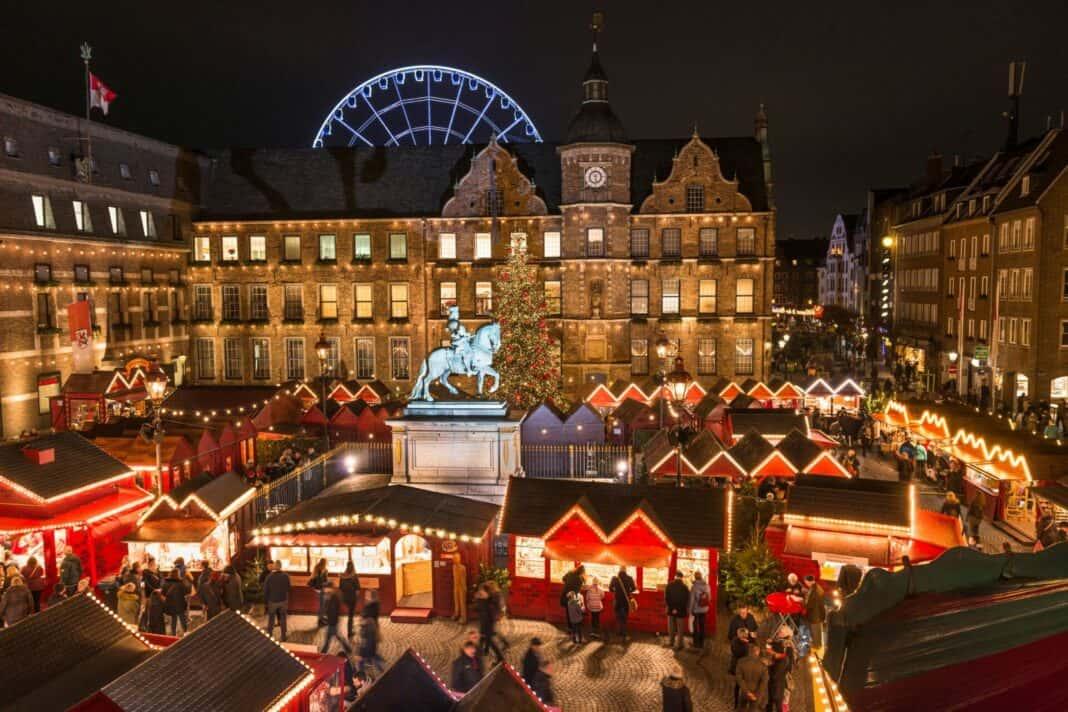 Düsseldorf: Fans und Händler des Weihnachtsmarkts zusammenbringen