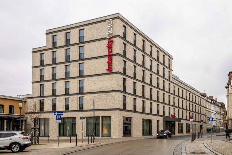 Außenansicht Intercityhotel Hildesheim