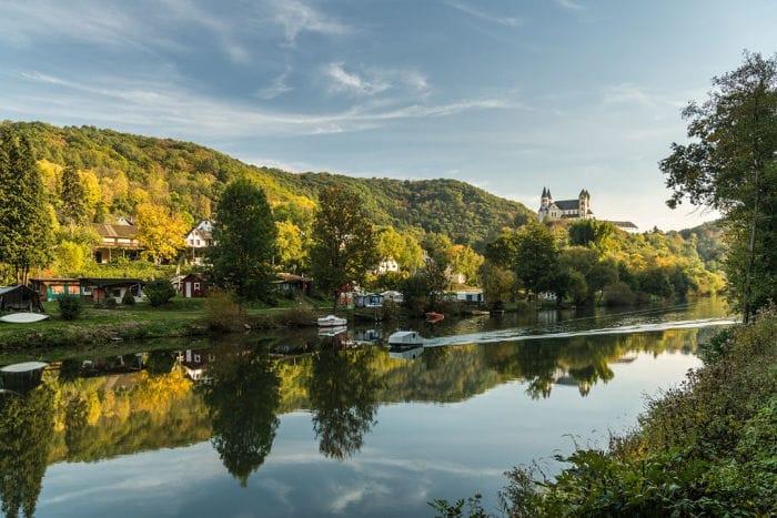 Kloster Arnstein im Lahntal beeindruckt mit besonderer Vergangenheit