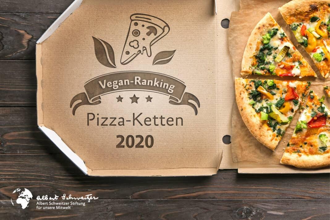 Ranking 2020: Die besten deutschen Pizza-Ketten für Veganer