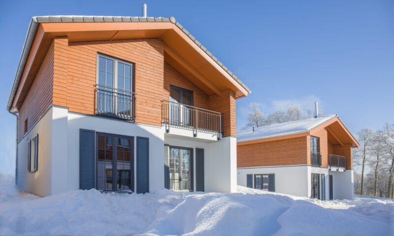 Außenansicht Ferienhaus im UplandParcs Winterberg