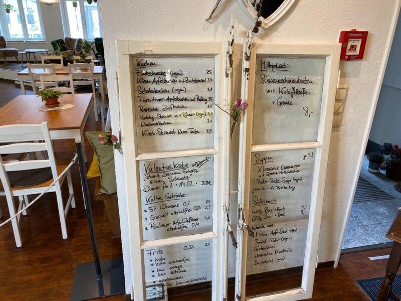 Statt Speisekarte - innovative Alternative