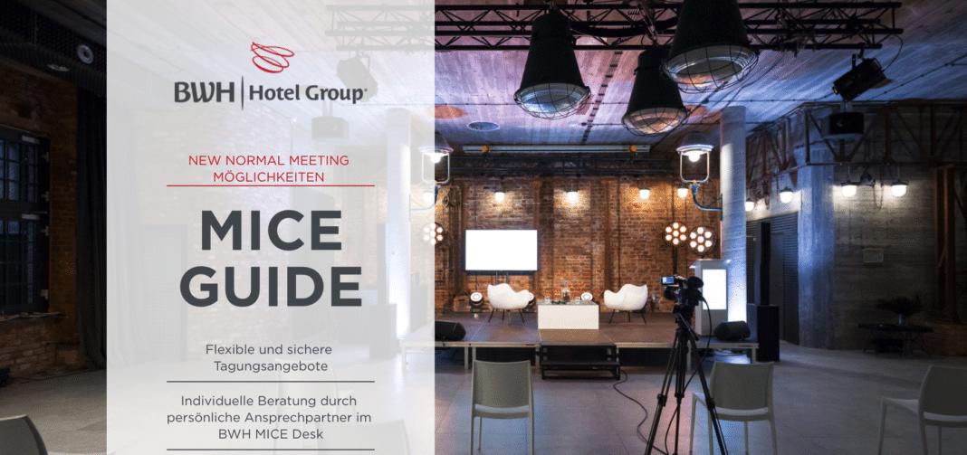 MICE Guide der BWH Hotel Group Central Europe vorgestellt