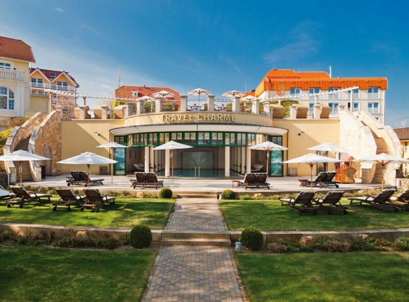 Gartenanlage Nordperd Hotel Göhren
