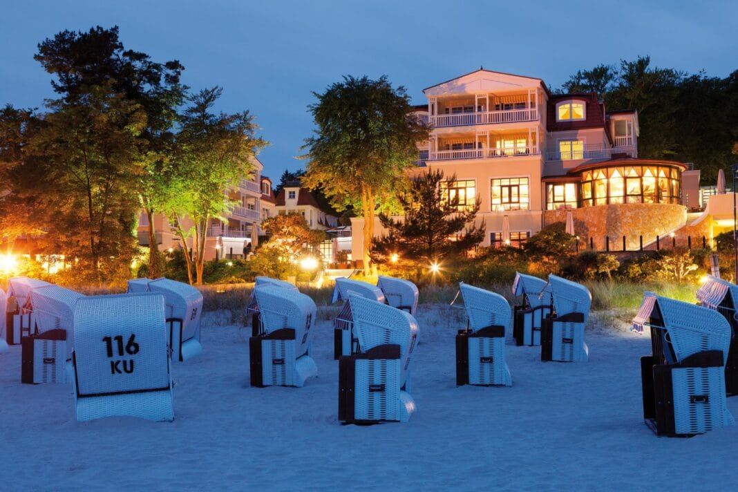 Strandhotel Bansin auf der Insel Usedom: Generationen übergreifend