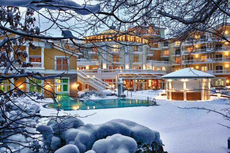 strandidyll heringsdorf hotel winter ©vision photos