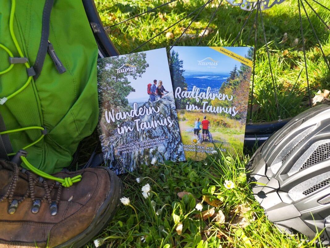 tNeue Wander- und Radbroschüren der Freizeitregion Taunus