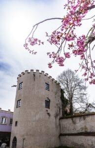 Der Seilerturm in der Stadtmauer von Füssen/Allgäu, Bild: Füssen Tourismus und Marketing/David Terrey