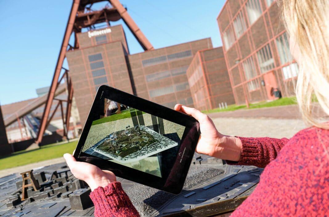Zollverein-App: Infos, Orientierung und Augmented Reality