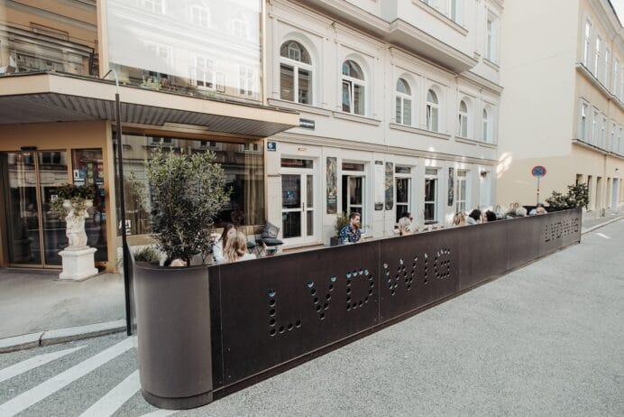Aussenansicht Hotel Beethoven in Wien
