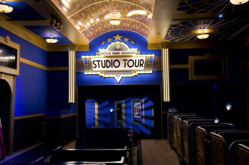 Studio-Tour im Movie Park Germany