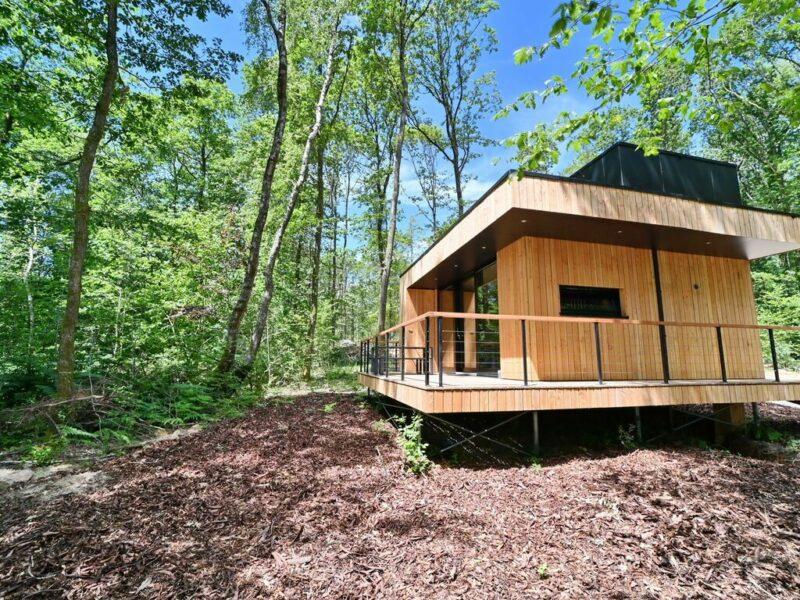 Eco-Lodge in Viroinval: Nach japanischer Tradition errichtet