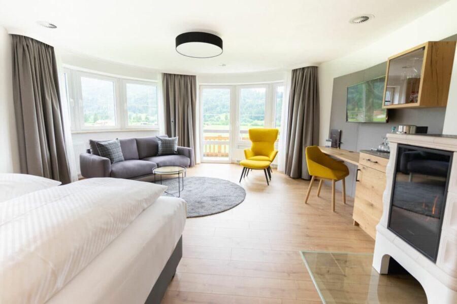 Neu gestaltetes Zimmer im Best Western Plus Hotel Alpenhof